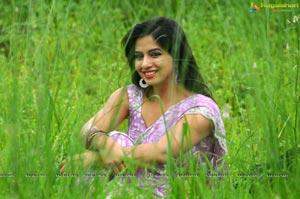 Nisha Shah in Saree