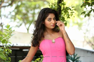 Sharon Fernandes Pink Dress