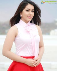 Raashi Khanna Red Dress
