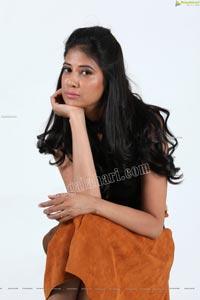 Aaliya Abraham Sage Green Mini Dress
