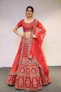 Andleeb Zaidi Showcases Mebaz's Wedding Collection
