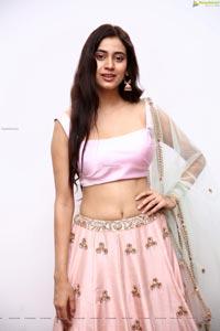 Andleeb Zaidi in Light Pink Lehenga
