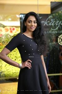 Kamakshi Bhaskarla at Arkayam Fashion & Lifestyle Exhibition