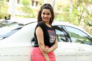 Manjusha at Sulthan Movie Success Movie