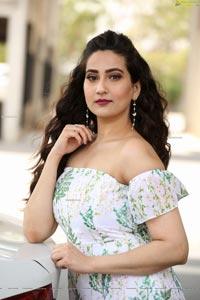 Anchor Manjusha at Wild Dog Movie Success Meet
