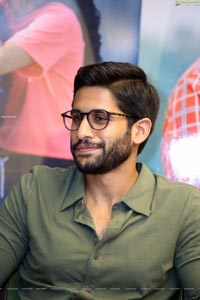 Naga Chaitanya at Love Story Movie Press