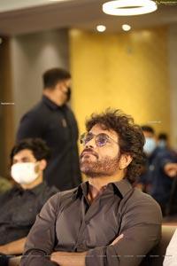 Nagarjuna at Wild Dog Movie Success Meet
