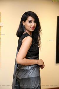 Neha Goswami at Art Sale & Fashion Walk Avantgrade