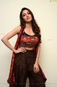 Neha Shetty at Gully Rowdy Movie First Look Poster Launch