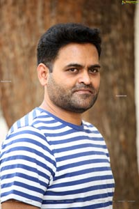 Praveen Sattaru at 11th Hour Web Series Interview