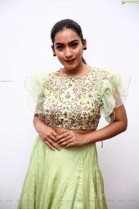 Preetie Singh Rajput in Pistachio Green Designer Lehenga