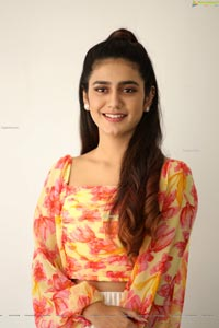 Priya Prakash Varrier at Ishq Movie Interview