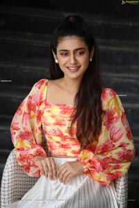 Priya Prakash Varrier at Ishq Movie Interview
