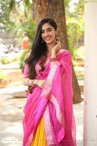 Simrat Kaur at Aadi's New Film opening
