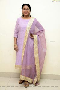 Suma Kanakala at Vakeel Saab Movie Pre-Release Event