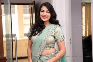 Supraja Reddy in Green Designer Lehenga Choli
