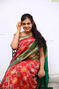 Vaanya Aggarwal in Traditional Saree