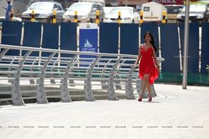 Ileana in Midriff Dress