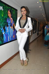 Catherine Tresa at Hyderabad Muse Art Gallery
