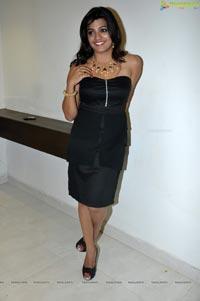 Beautiful Tashu Kaushik in Black Dress