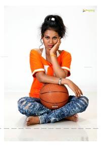Telugu Girl Aishwarya Hot Wallpapers