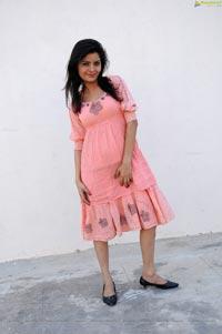 Gehana Vasisth in Pink Dress