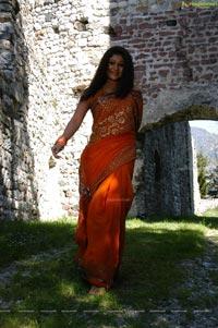 Nayanthara in Orange Dress