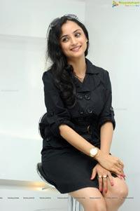 Madirakshi in Black Dress