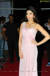 Pranitha at Rabhasa Audio Release
