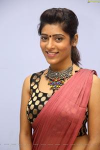 Gayathri Gupta in Saree