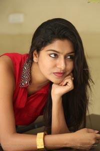 Sai Akshatha in Red Dress