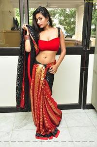 Monica Thompson in Saree