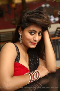 Monica Thompson in Saree