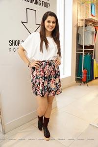 Taapsee in Mini Skirt