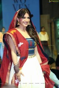 Mehrene Kaur Pirzada at Woven 2017