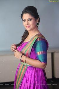 Shilpa Chakravarthy At Arjun Reddy Pre-release