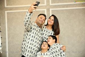 Anchor Anasuya Family