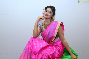 Mona in Saree