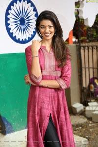 Shreya Rao Kamavarapu at Devnar School For The Blind