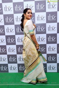 Rashmi Gautam at TBZ New temple Collection Launch