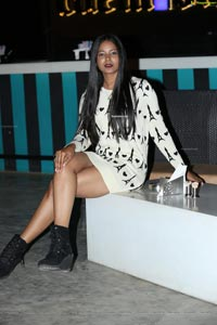 Debbie at Designer Bhanu Shashank Birthday Bash