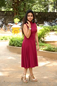 Deekshitha Parvathi at Neekosam Trailer Launch