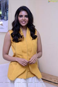 Kalyani Priyadarshan at Ranarangam Interview