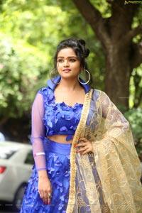 Karronya Katrynn at Ilu Me Srimathi Movie Muhurat