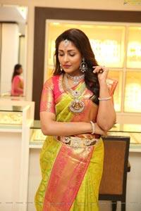 Madhu Shalini at TBZ Mangalam Collection Launch