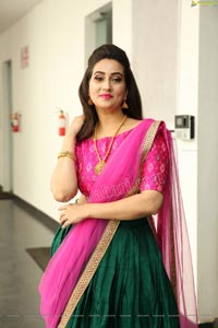 Manjusha Exclusive Photoshoot Stills