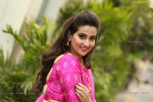 Manjusha Exclusive Photoshoot In Half Saree