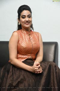 Manjusha at 2 Hours Love Pre Release Event
