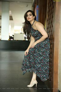 Manjusha at Saaho Movie Press Meet