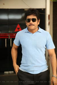 Nagarjuna at Manmadhudu 2 Success Meet